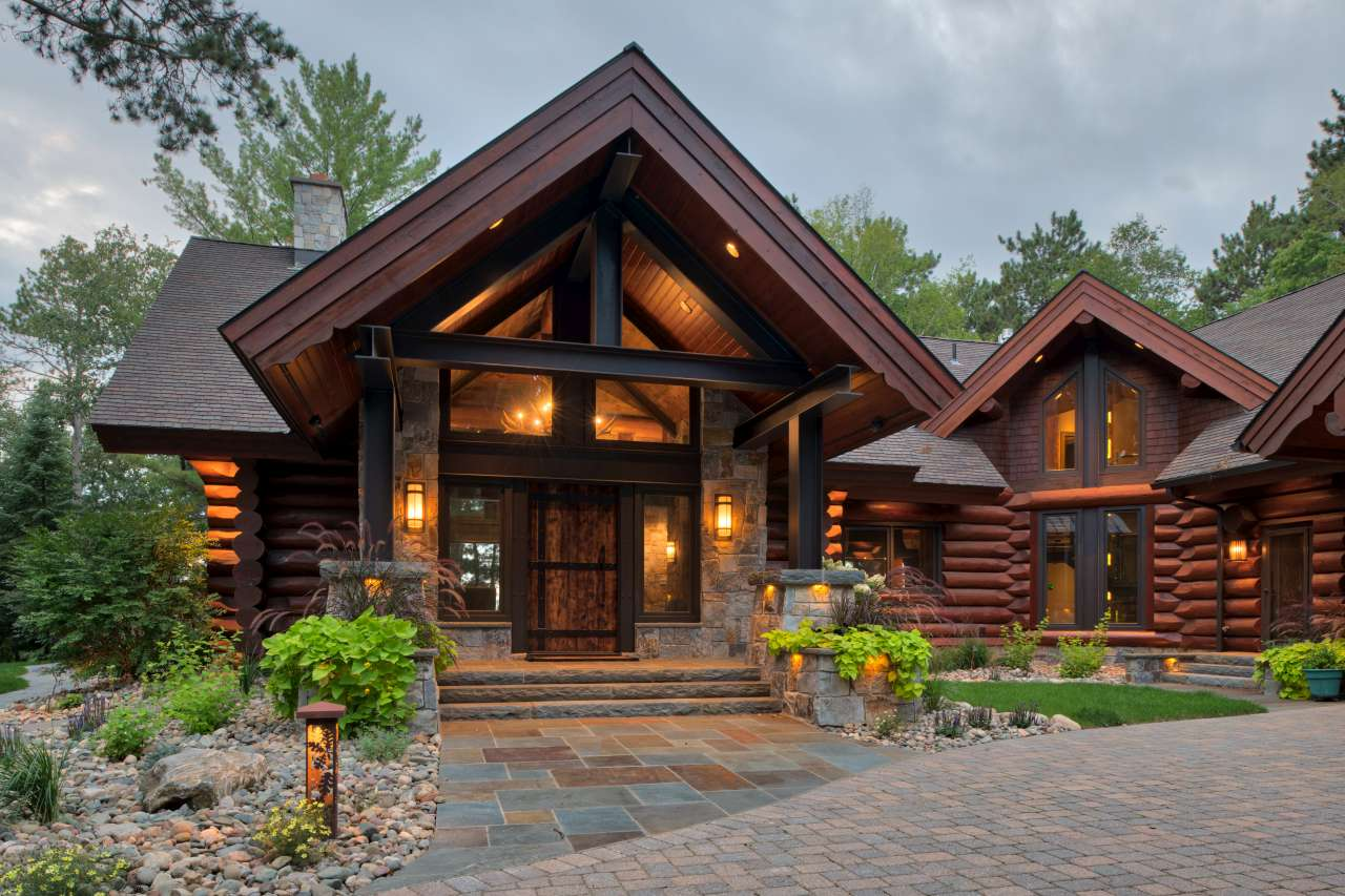 Modern Log Renovation Nor Son Residential Construction